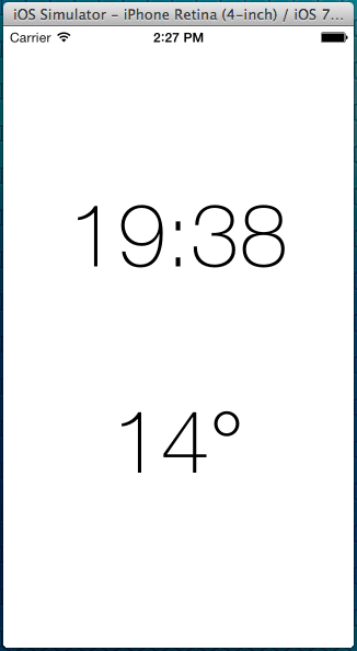 The font used in iOS 7 Weather app | Glimsoft